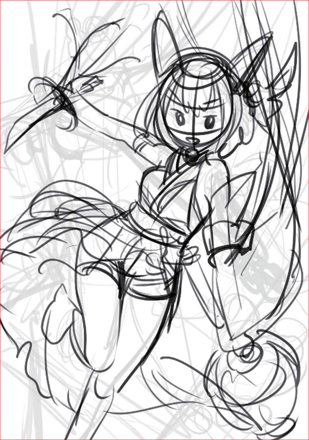 藤ちょこ ー 美しい幻想世界とキャラクターを描く02-05