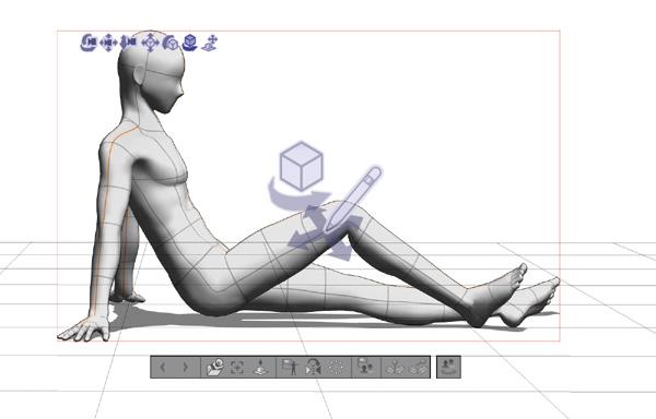 「3Dデッサン人形」で描ける構図・ポーズのパターンを増やそう