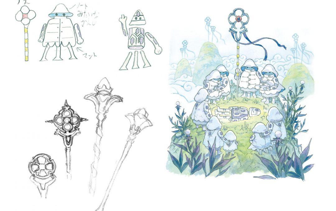 子どもが描いたイラストから発想を得てクリエイトする〜「一人」から「一族」の物語へと繋げる〜