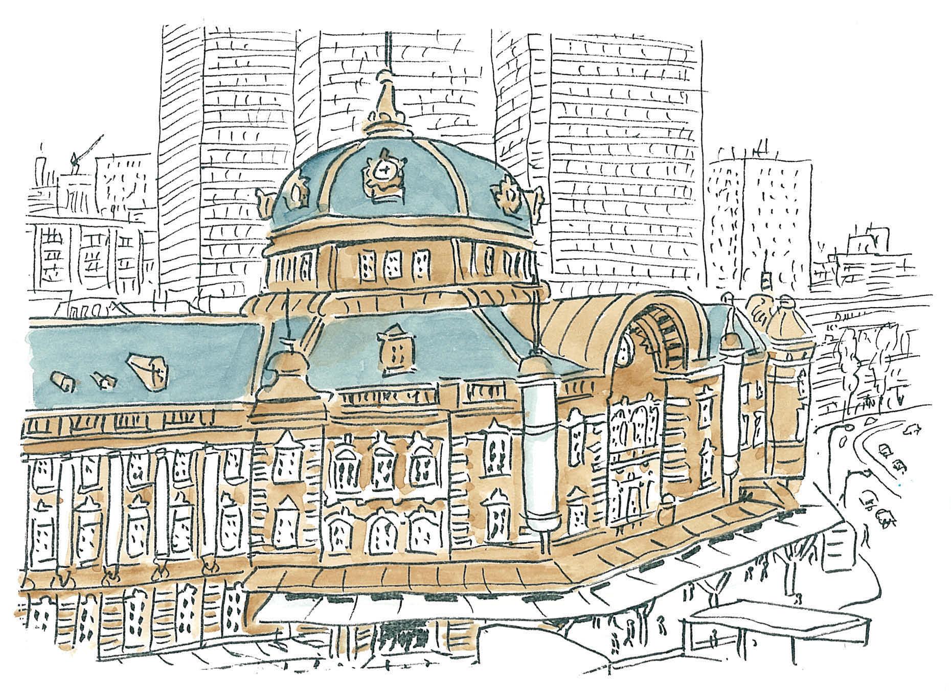 永沢まこと-街スケッチ-01-15