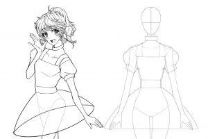 アイドル衣装をデザインする〜衣装の構造は「筒の組み合わせ」だ〜