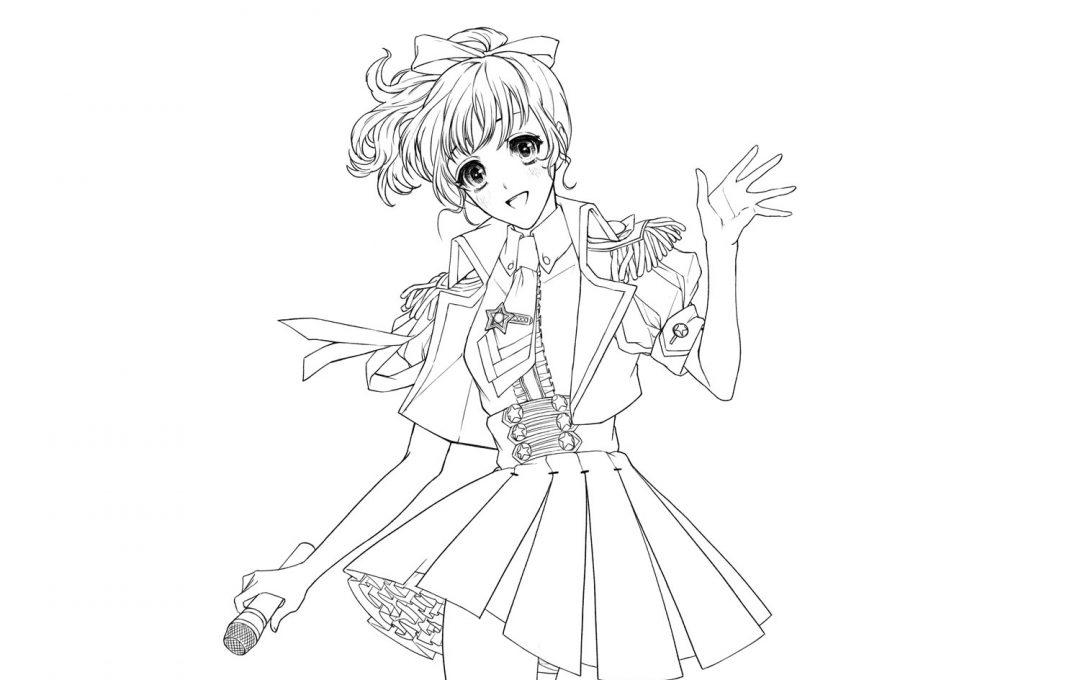 王道アイドルのステージ衣装に見るバランスとディテール表現