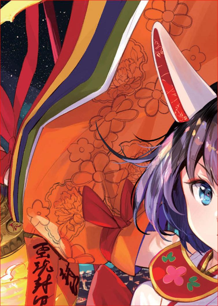 藤ちょこ ー 美しい幻想世界とキャラクターを描く-10-08