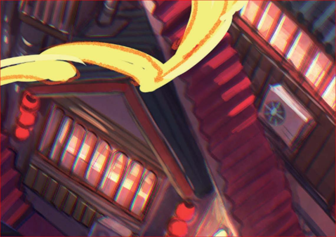 藤ちょこ ー 美しい幻想世界とキャラクターを描く-11-12