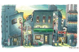 戦災から逞しく蘇った街─ 東京・池袋「美久仁小路・栄町通り」
