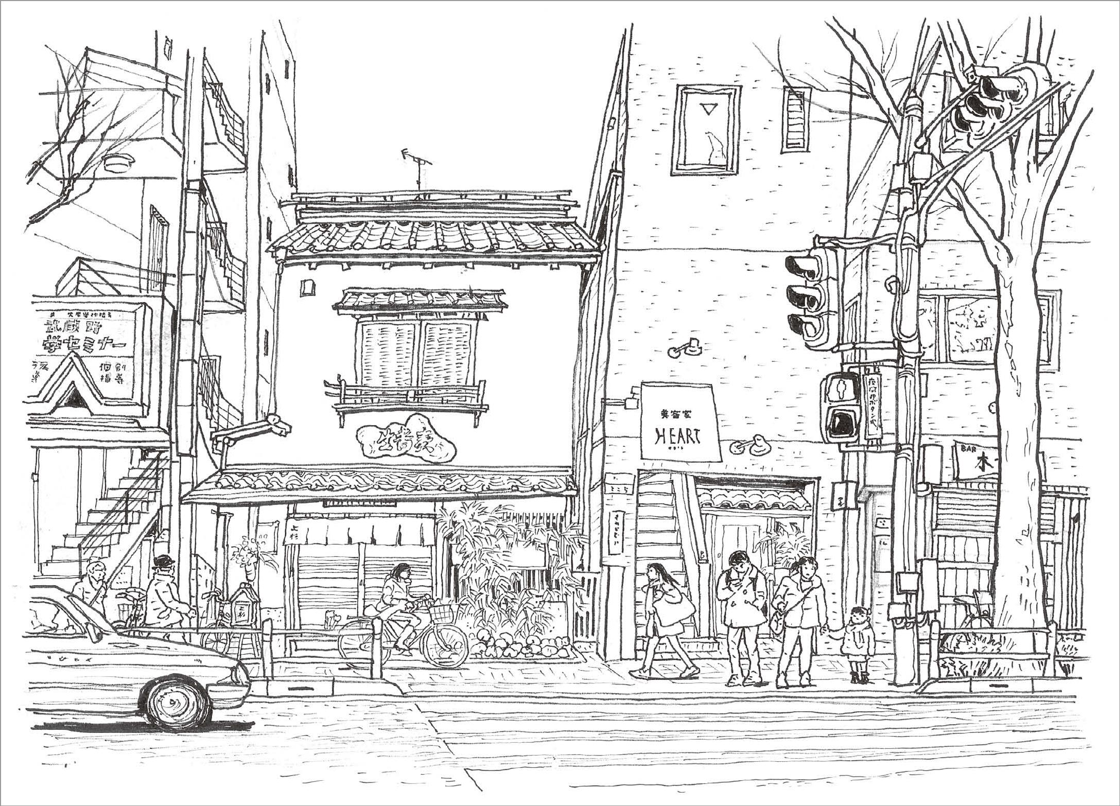 永沢まことの街歩きスケッチ入門-10-09