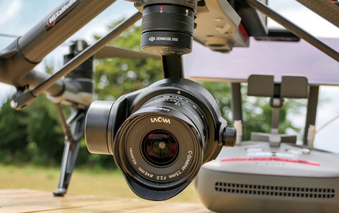DJIドローン Inspire 2×Zenmuse X5S レンズ交換の魅力とは?レンズを交換して多彩な表現に挑戦する