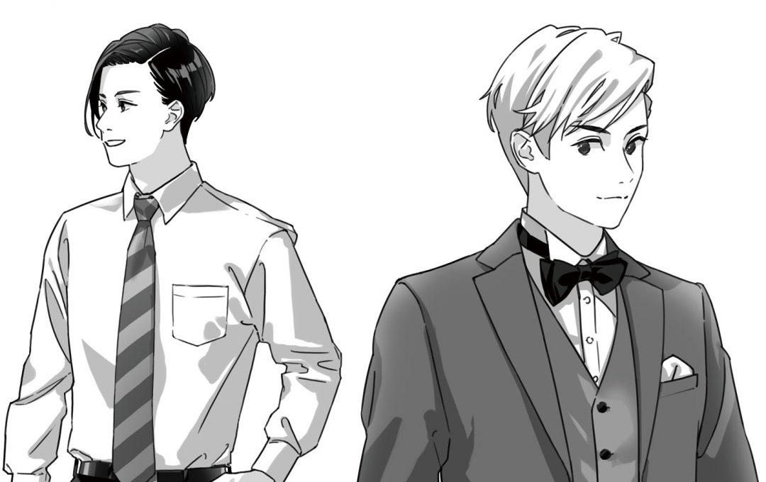キャラクターイラストは小物で活きる!スーツ姿に欠かせない「ネクタイ」の描き分け