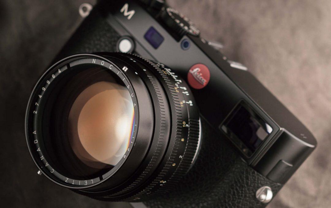 一生に一度は使ってみたい圧倒的存在感のライカレンズ Noctilux 50mmF1