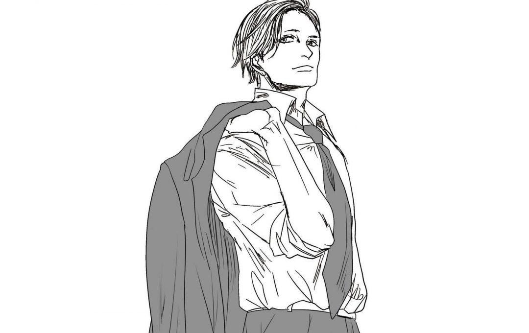 男性キャラクターを描くコツとは?スーツ姿がよく似合う「硬派な」男たちの在り方を表現する
