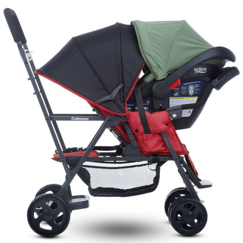 Joovy Caboose Stand On Tandem Stroller, Appletree Review