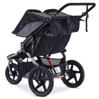 BOB Revolution Flex Duallie Jogging Stroller, Black