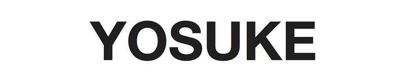 YOSUKEのロゴ画像