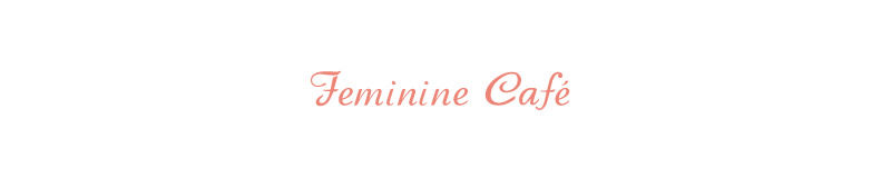 feminine cafe|フェミニンカフェのロゴ画像