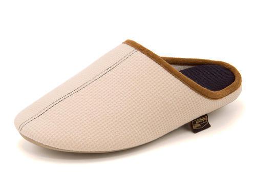 STANDARD STYLE(スタンダードスタイル) 238 room shoes レディース ルームシューズ M(リラックスタイプ) 181901 ベージュ サンダル