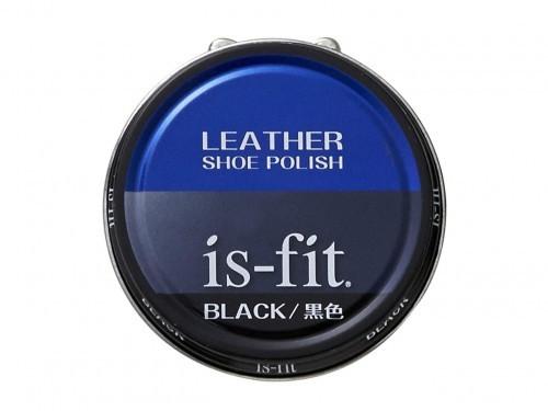 is-fit(イズフィット) 油性靴クリーム C045-6110 黒色 (ブラック) ケア用品