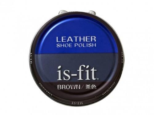 is-fit(イズフィット) 油性靴クリーム C045-6127 茶色 (ブラウン) ケア用品