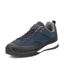 <G-FOOT> Coleman(コールマン) TREKKING LO【耐水/滑りにくい】 メンズスニーカー(トレッキングロウ) 586300 ネイビー アウトドアシューズ トレッキング/ハイキング画像