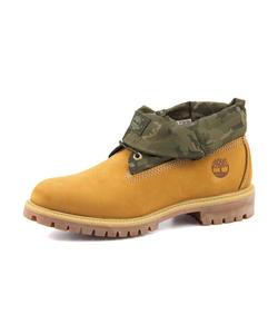 <G-FOOT> メンズ SALE!Timberland(ティンバーランド) ROLL TOP(ロールトップ) A1QY4 ウィート/カモ【ネット通販特別価格】 アウトドアシューズ タウンユース画像