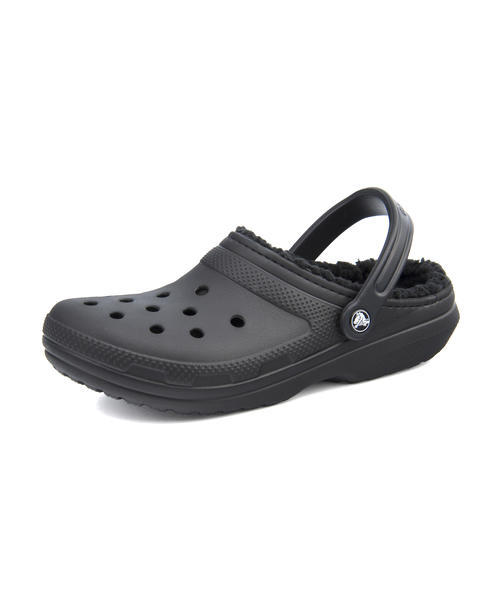 SALE!crocs(クロックス) CLASSIC LINED CLOG(クラシックラインドクロッグ) 203591 060 ブラック/ブラック【レディース】 サンダル クロッグ/サボ