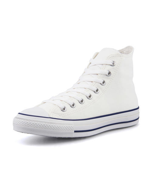 メンズ SALE!converse(コンバース) ALL STAR WR COLOREDLINE HI(オールスターWRカラードラインHI) 1SC002 ホワイト/ネイビー スニーカー ハイ/ミッドカット