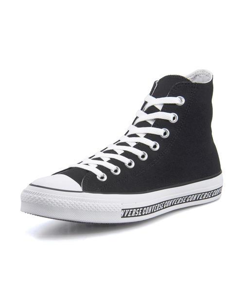 【6/30まで】SALE!converse(コンバース) ALL STAR LOGOLINE HI(オールスターロゴラインHI) 1SC074 ブラック【メンズ】【ネット通販特別価格】 スニーカー ハイ/ミッドカット
