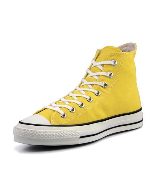 converse(コンバース) CANVAS ALL STAR J HI メンズスニーカー(キャンバスオールスターJHI) 32965133 イエロー【メンズ】 ハイ/ミッドカット