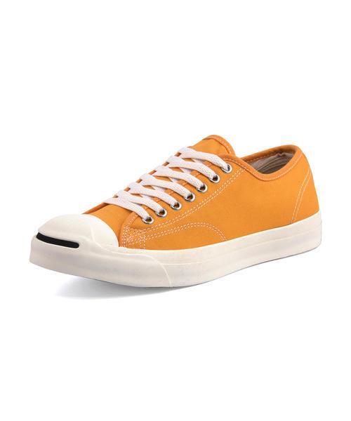 converse(コンバース) JACK PURCELL WASHEDCANVAS RH メンズスニーカー(ジャックパーセルウォッシュドキャンバスRH) 1CL466 オレンジ ローカット