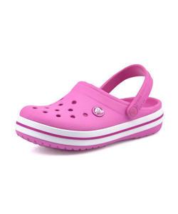 <G-FOOT> crocs クロックス CROCBAND CLOG K キッズサンダル(クロックバンドキッズ) 204537 6U9 パーティピンク ガールズ