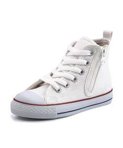 <G-FOOT> converse コンバース CHILD ALL STAR N HUGEPATCH Z HI キッズスニーカー(チャイルドオールスターNヒュージパッチZHI) 3SC080 ホワイト ボーイズ