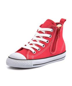 <G-FOOT> converse コンバース CHILD ALL STAR N HUGEPATCH Z HI キッズスニーカー(チャイルドオールスターNヒュージパッチZHI) 3SC081 レッド ボーイズ