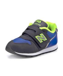 <G-FOOT> キッズ new balance ニューバランス IZ996 ベビースニーカー 390996 DN ブルー/ライム ファースト/ベビー