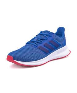 <G-FOOT> adidas アディダス FALCONRUN K キッズスニーカー(ファルコンランK) F36540 トゥルーブルー/カレッジロイヤル/ショックレッド ガールズ