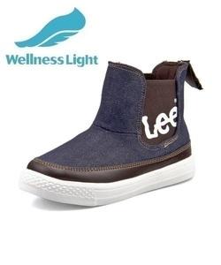 <G-FOOT> Lee リー ADAK LIGHT キッズブーツスニーカー【軽量】(アダックライト) 000819 デニム ボーイズ