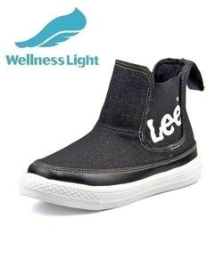 <G-FOOT> Lee リー ADAK LIGHT キッズブーツスニーカー【軽量】(アダックライト) 000819 ブラック ボーイズ