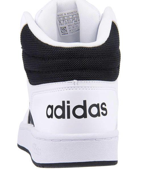 adidas アディダス ADIHOOPS MID 2.0 メンズスニーカー(アディフープスミッド2.0) BB7208 ランニングホワイトコアブラックコアブラック[1069_3]