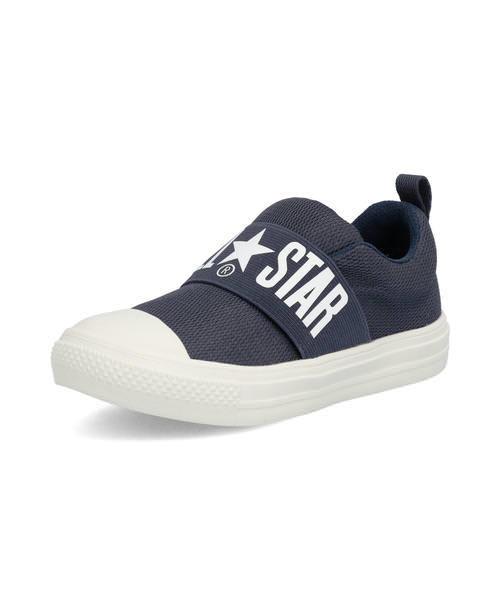 converse コンバース CHILD ALL STAR LIGHT BIGGORE SLIP-ON キッズスニーカー【超軽量】(チャイルドオールスターライトビッグゴアスリップオン) 37300460 ネイビー ボーイズ
