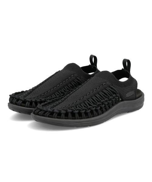 KEEN キーン UNEEK EVO メンズサンダル(ユニークエヴォ) 1023074 ブラック/ブラック スポーツ