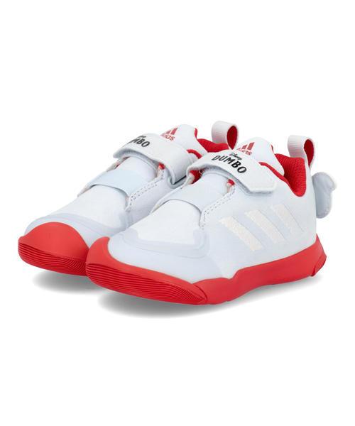 キッズ adidas アディダス ACTIVEPLAY DUMBO I ベビーシューズ【DISNEY】(アクティブプレイダンボI) H67841 ハローブルー/フットウェアホワイト/ビビッドレッド スニーカー ファースト/ベビー