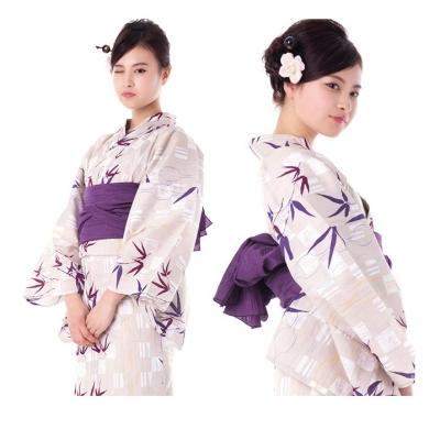 ◆笹の葉柄の浴衣