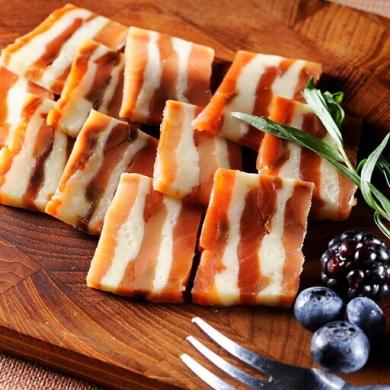 ◎北海道の鮭とチーズのミルフィーユ