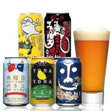 ★クラフトビール はじめての飲み比べセット
