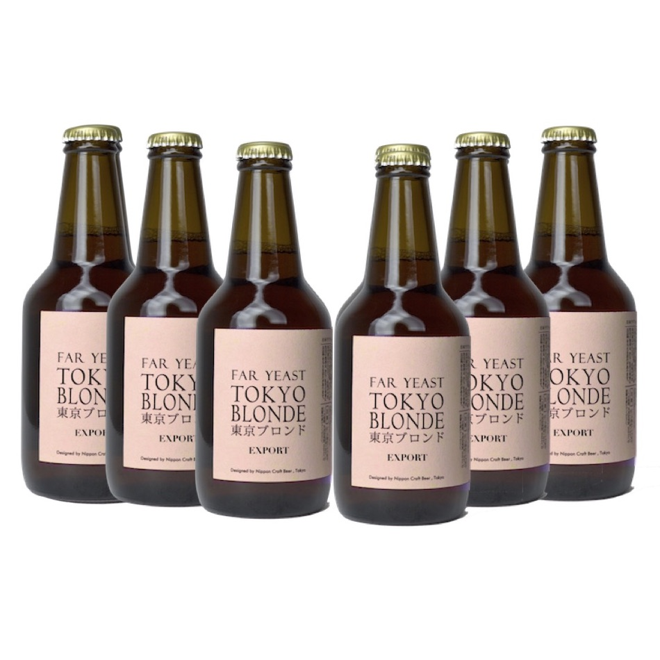 Far Yeast Tokyo Blonde- Export 6本セット