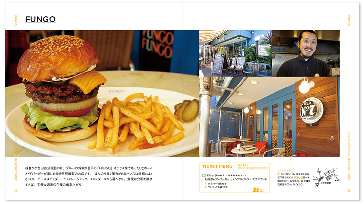 Burger catalog sample 2