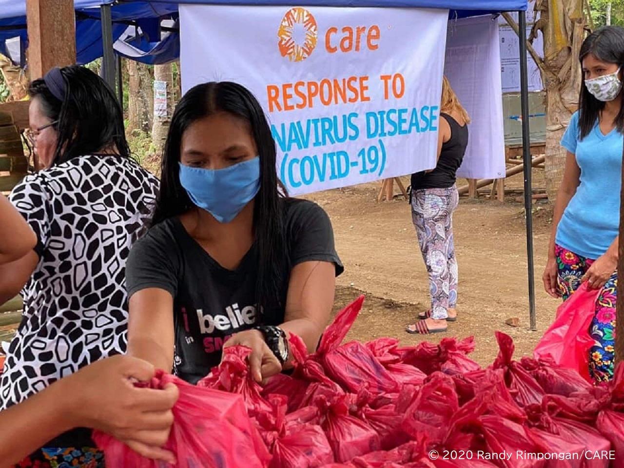 フィリピン、ミンダナオ島で、石けん等を含む衛生キットを配布