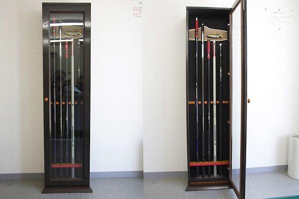 S様 鮎竿の保管ケースの扉