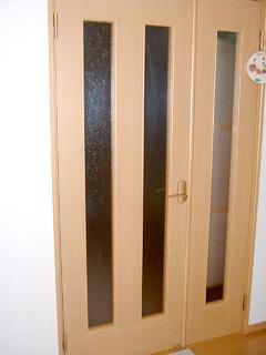 M様 室内ドアのガラス