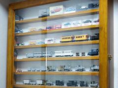 A 様 模型展示棚