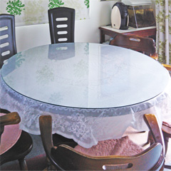 H様 円形テーブル天板