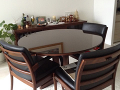 Y.W様 円形テーブル天板